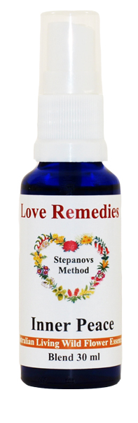 Love Remedies Blütenessenzen Vitalsprays Inner Peace